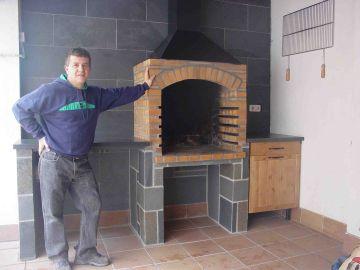 Hornos artesanos de obra - Hacer una chimenea de obra ...