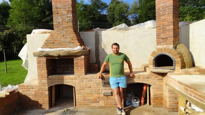 Barbacoas y hornos de obra